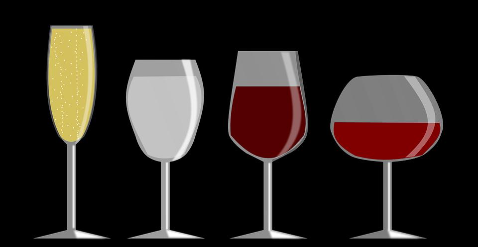 vinske čaše